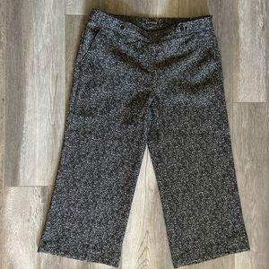 Express Brand  High Waisted Cropped Dress Pants